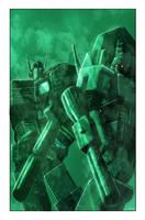 Transformers: Autocracy 8 Cover by LivioRamondelli