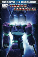 Robots in Disguise 6 (Lettered Cover) by LivioRamondelli