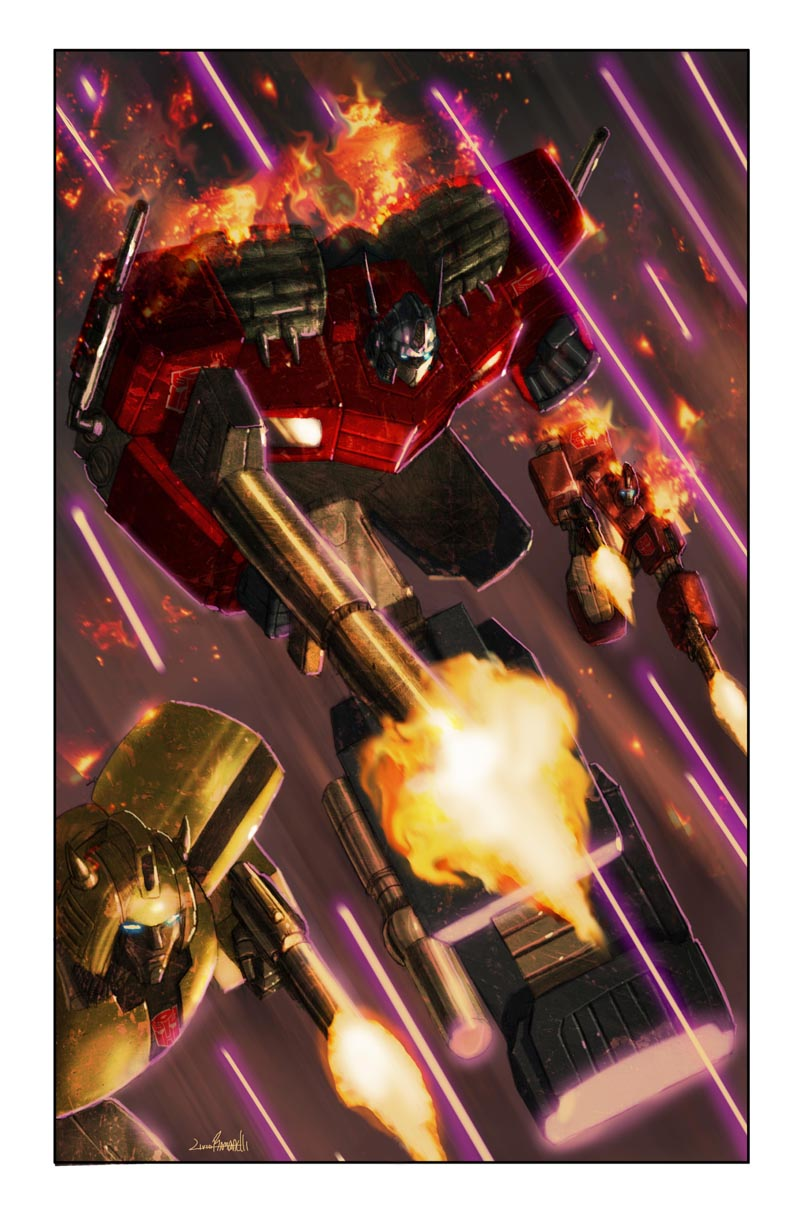 Transformers: Autocracy 11 Cover
