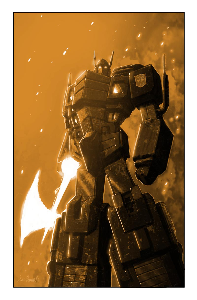 Transformers: Autocracy 12 Cover
