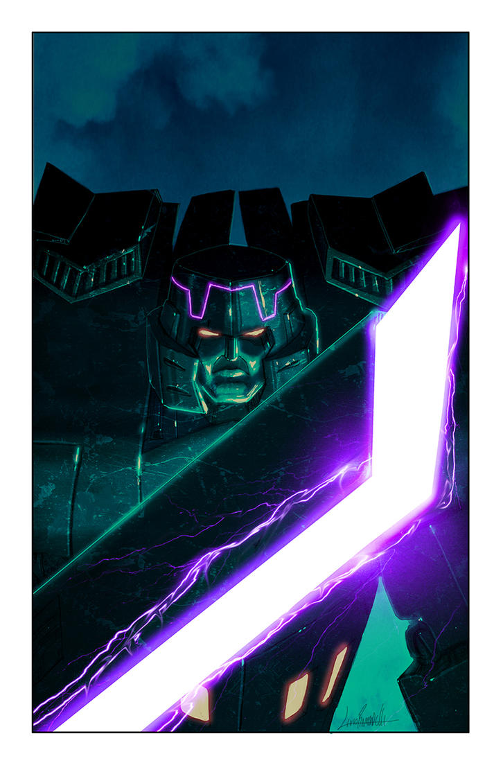 Spotlight: Megatron Cover by LivioRamondelli