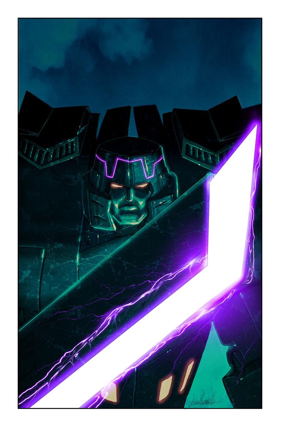 Spotlight: Megatron Cover