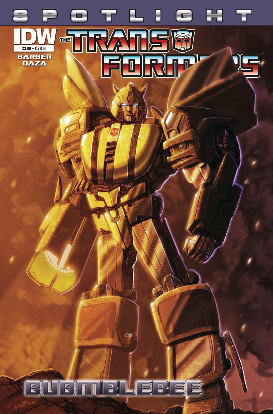 Spotlight:Bumblebee Cover by LivioRamondelli