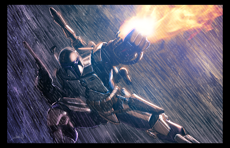 Jango Fett by LivioRamondelli