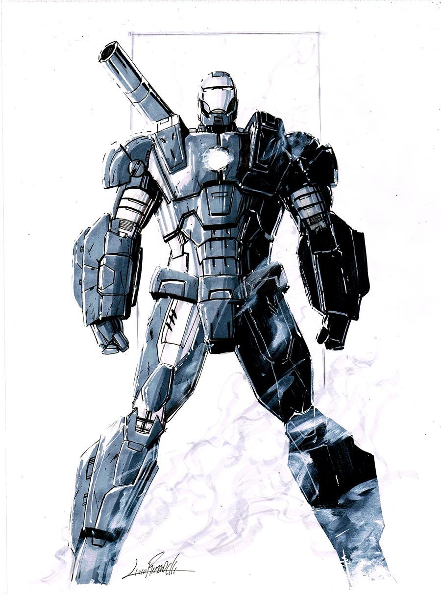 War Machine commission by LivioRamondelli