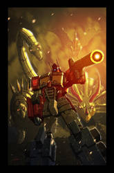 Transformers: Punishment 1 Cover by LivioRamondelli
