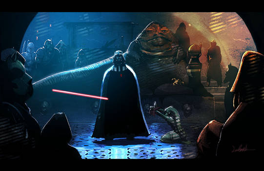 Vader in Jabba's Palace