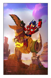 Transformers/Angry Birds Cover by LivioRamondelli