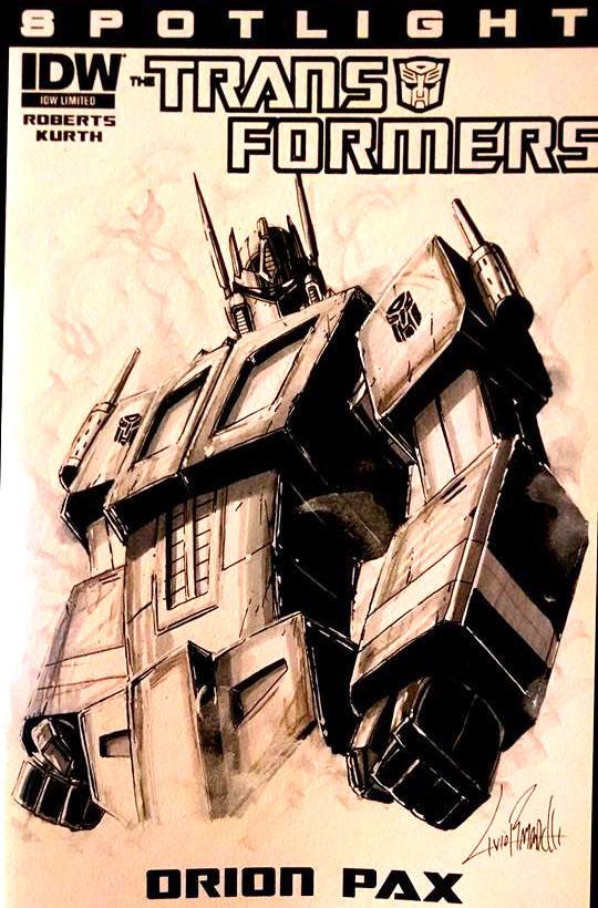 Prime Sketch Cover by LivioRamondelli