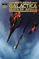 BattleStar Galactica: Death of Apollo 2 Cover by LivioRamondelli