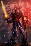 Optimus Prime Age of Extinction style