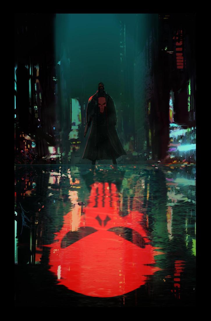 The Punisher by LivioRamondelli