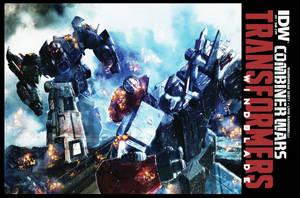 Windblade 2 Combiner Wars Cover by LivioRamondelli