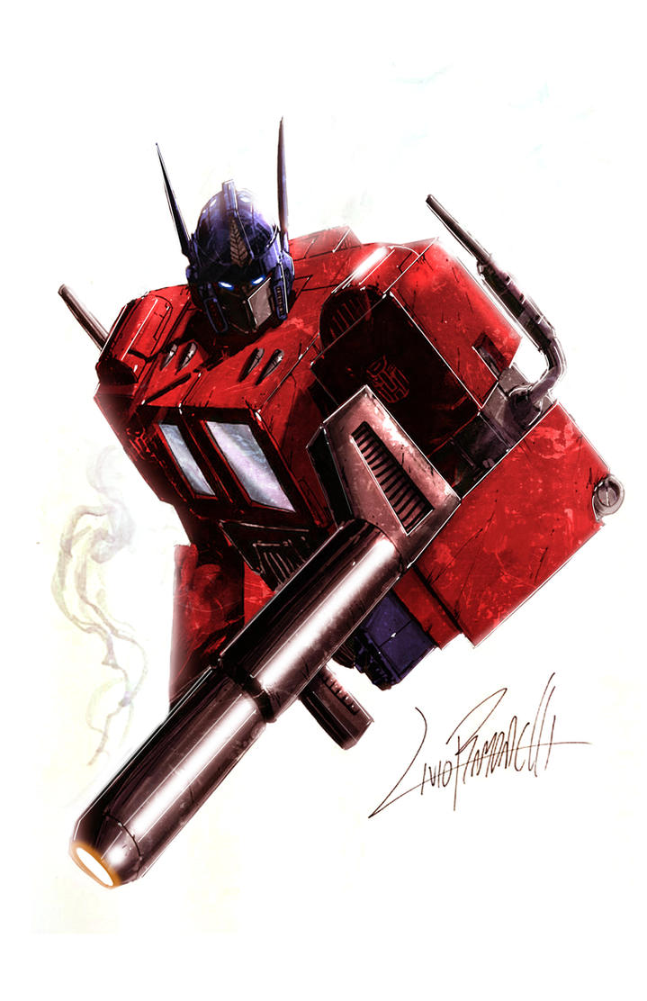 Optimus Prime color by LivioRamondelli