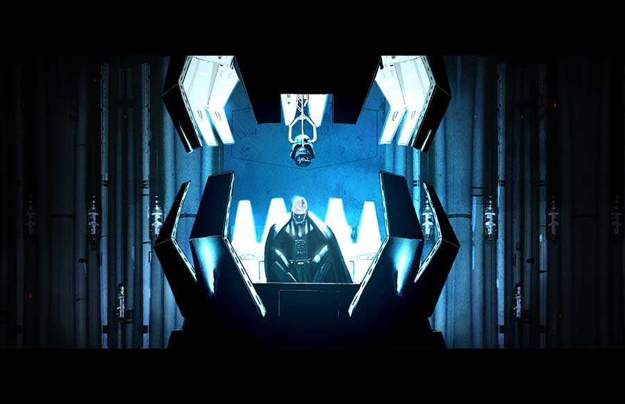 Vader Meditation Chamber by LivioRamondelli