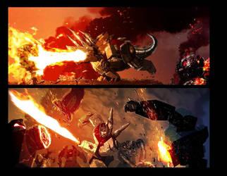 Transformers:Redemption preview by LivioRamondelli