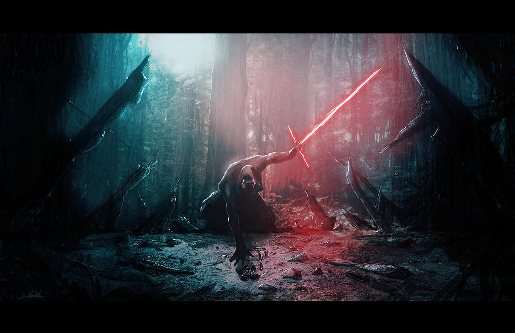 Kylo Ren and Vader's Mask by LivioRamondelli on DeviantArt