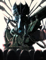 Alien: Visions piece by LivioRamondelli
