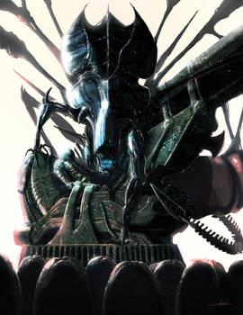 Alien: Visions piece