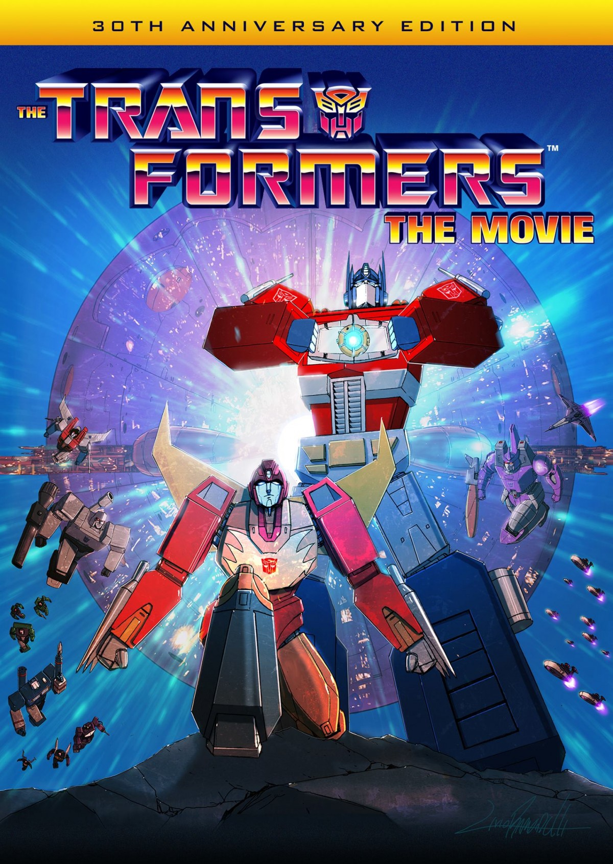 Transformers: The Movie Blu-Ray Cover by LivioRamondelli