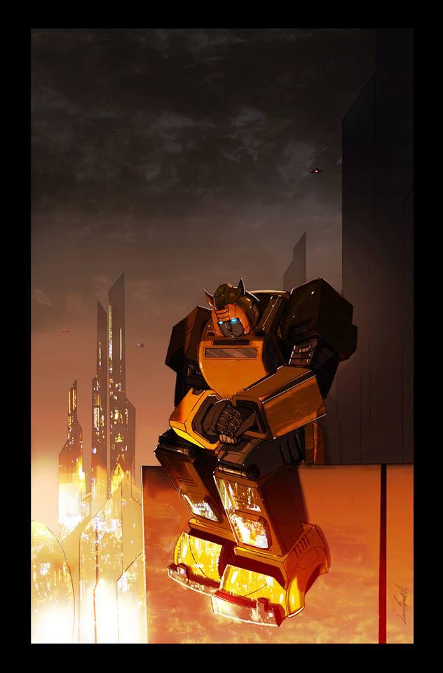 Transformers 7 Cover by LivioRamondelli
