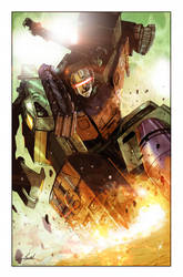 Transformers: Galaxies #4 Cover