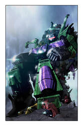 Transformers: Galaxies #1 Torpedo Comics variant