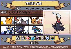 Pokemon Old Sinnoh Trainer Card by FallenGreyShadow15