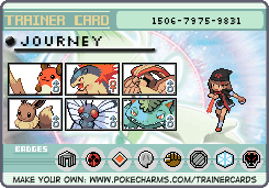 Pokemon New Johto Trainer Card by FallenGreyShadow15