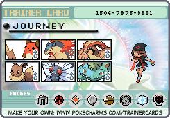 Pokemon New Johto Trainer Card by FallenGreyShadow15