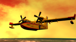 Daz PCaparros CL 145 Sunset Beach Overflight by anthsco