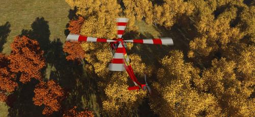 Daz Caparros Flipmode PZL W3 Civil 4 by anthsco