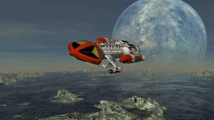 Daz starkiller space 1999 Eagle 1