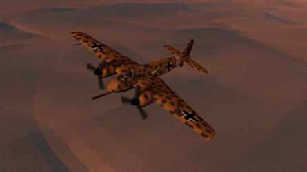Daz caparros hs 129 dusk desert hunting 2