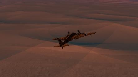Daz caparros hs 129 dusk desert hunting 3