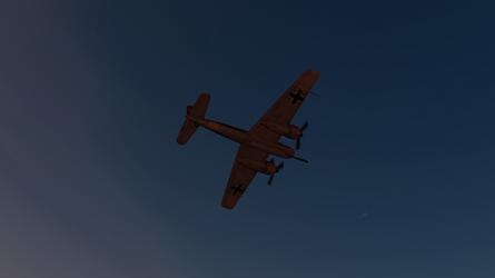 Daz caparros hs 129 dusk desert hunting 4