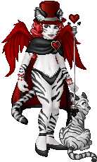 Tigress Queen of Hearts by Kiddiss