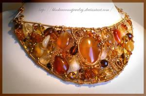 Scythian Fantasy by blackcurrantjewelry