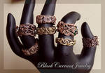 Antiqued Wire Rings