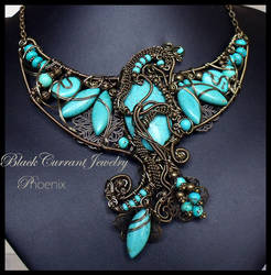 Phoenix by blackcurrantjewelry