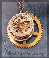 Celestial Mechanism by blackcurrantjewelry