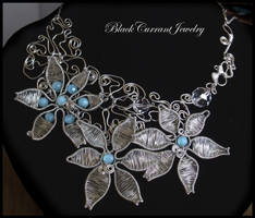 Silver Garden by blackcurrantjewelry
