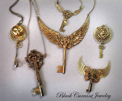 More Steampunk 1 by blackcurrantjewelry