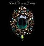 Green Crystal Pendant
