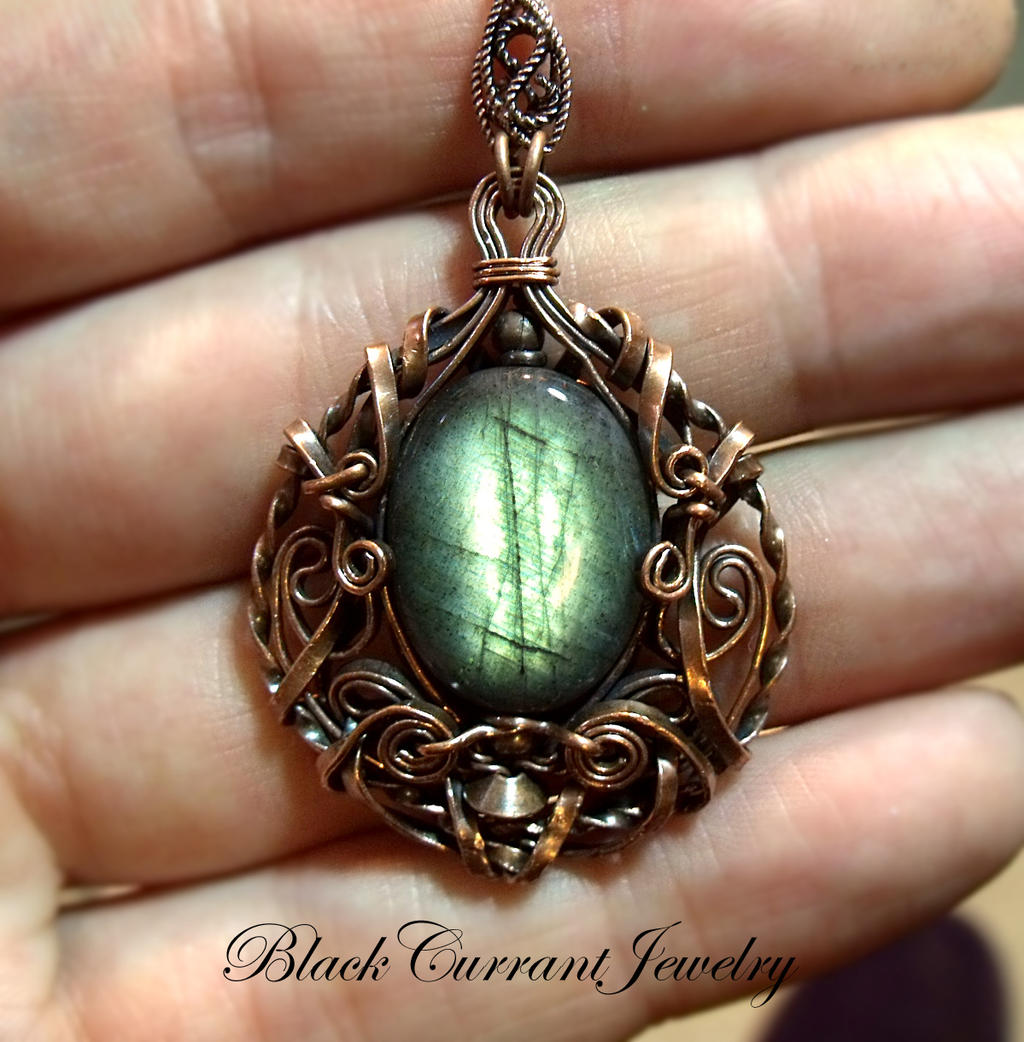 Deep Forest Treasure by blackcurrantjewelry