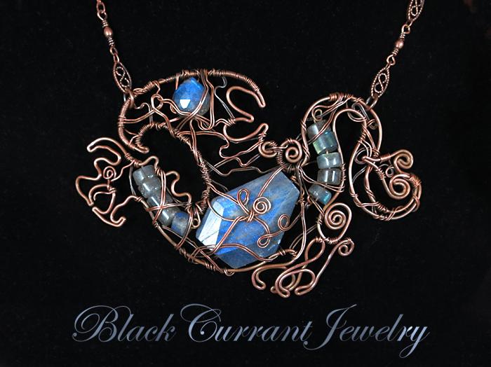 Jabberwocky by blackcurrantjewelry
