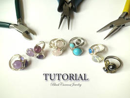 Tutorial - Wire Ring with 2,3,4 Beads - ETSY