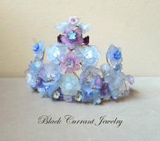 Purple-Blue Fairy Crown