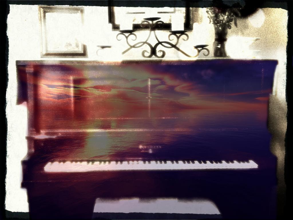 Dawn's Piano by Iamtheturtleartist