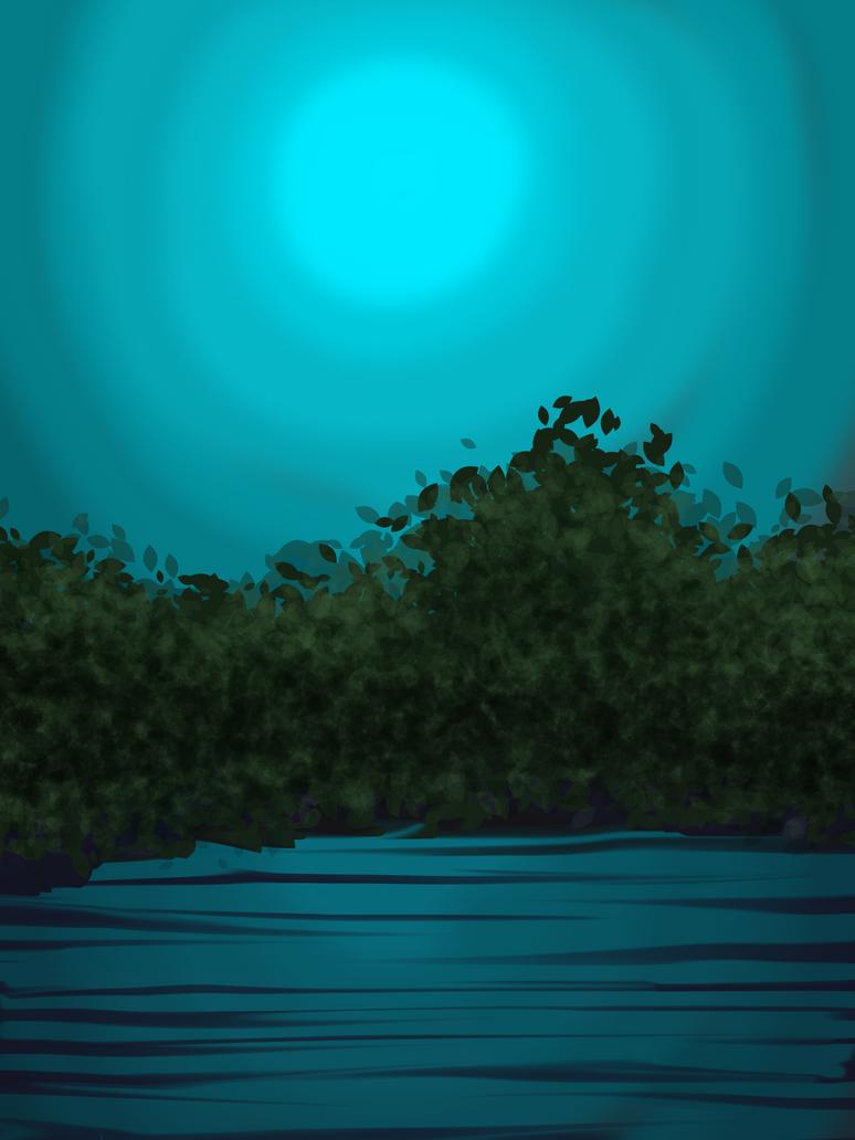 Lake Side by Iamtheturtleartist